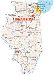 Illinois Interstate Map by Develop Morris Il