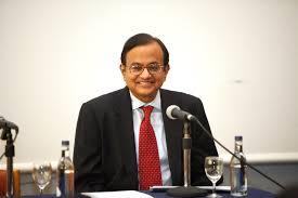 Union   Finance  Minister Shri P Chidambaram