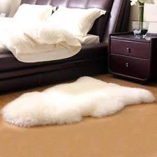 White Fur Rugs Fur Rug Ebay