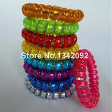elastic hair band aliexpress buy 50pcs elastic hair bands tie telephone cord