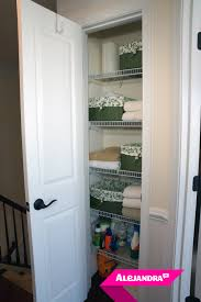 video how to organize a small linen closet