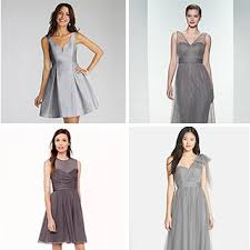 gray bridesmaid dress grey bridesmaid dress 2017 wedding ideas magazine weddings