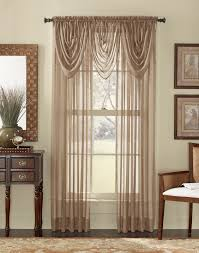 Sheer Valance Curtains Brown Sheer Valances Design Idea And Decorations Decor An