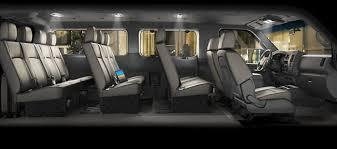 Ford Van Interior Nissan U0027s New U S Built Nv Passenger Van To Debut Spring 2012
