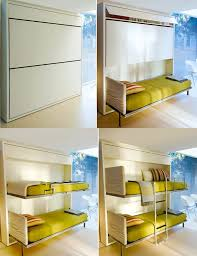 Modern Space Saving Furniture by Tiny Studio Space Save High Ceiling Loft Bed Save Space Interior