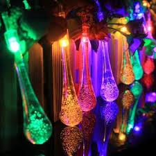 qedertek solar string lights qedertek solar string lights 16 4ft 20 led 8 modes global water drop