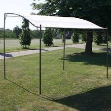 Gazebo Awning Garden Gazebo Bbq Sturdy Steel Waterproof Roof Side Nets Permanent