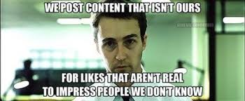 Fight Club Memes - om nom nom