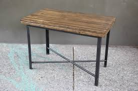 Wooden Legs For Table Tables U2014 Mid Century Industrial Primitive Furnishings