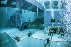 inside swimming pool inside the world s deepest swimming pool that reaches depths of