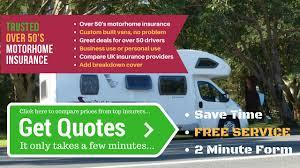 motorhome insurance over 50
