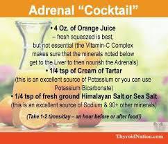 ernährung bei nebennierenschwäche adrenal cocktail autoimmune thyroid gesund isst