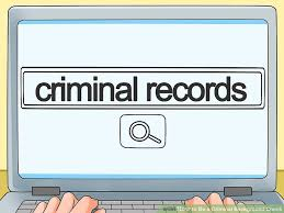 How To Pass A Criminal Background Check How To Do A Criminal Background Check 12 Steps With Pictures