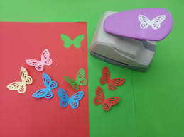 free shipping new design butterfly craft punch furadores