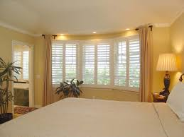 White Wood Blinds Bedroom Window Shutters For Bedrooms Bedroom Window Treatments