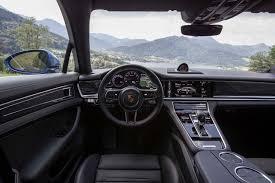 porsche panamera hatchback interior 2017 porsche panamera 4s first drive review automobile magazine