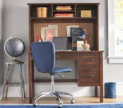 Childrens Desks With Hutch Kendall Desk Hutch Pottery Barn