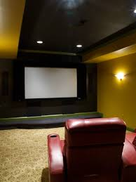 cool theatre room decorations with stunning details for your