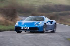 blue ferrari ferrari at 70 touring britain in a 488 spider and a 166 autocar