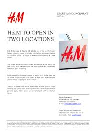 h u0026m to open 2 new stores in sliven and plovdiv in bulgaria