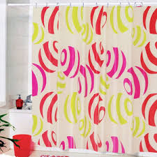 Bright Shower Curtains Bathroom Raining Scenery Pretty Shower Curtain