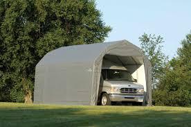 shelterlogic 12x20 barn style shelter 11 u0027 tall 90053 90054