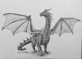 realistic dragon speed drawing youtube