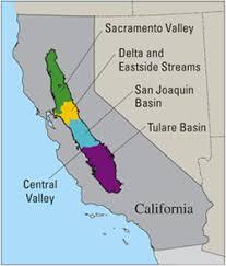 california map regions california geography