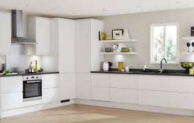White Modern Kitchen Ideas Clerkenwell Matt White Contemporary Kitchen From Howdens Joinery