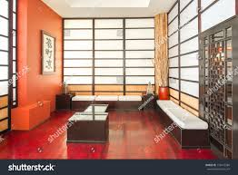 Japanese Room Oriental Style Japanese Room Lobby Entrance Stock Photo 175472588