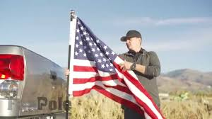 Flag Post Holder How To Put A Flag Pole On Your Truck The Best Way Fanpole