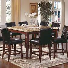 steve silver company montibello 7 piece counter height dining set
