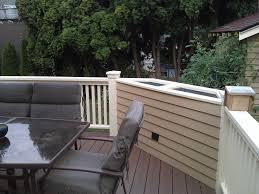 Deck Railing Planter Box Plans by Custom Planter Bo Custom Wood Planters Table Centerpiece Flower Bo