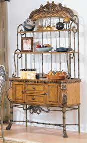 Large Bakers Rack Kitchen Contemporary Bakers Racks For Your Kitchen And Dining