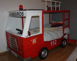 Fire Engine Bed Bedding Set Rare Horrifying Fire Truck Toddler Quilt Beloved