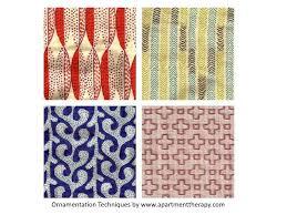 surface ornamentation techniques for textiles
