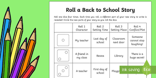 roll a back to story storyboard template back to
