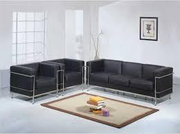 wholesale interiors 610 le corbusier sofa set black 610 sofa set