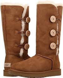 womens ugg bailey boots chestnut don t miss this deal ugg bailey button triplet ii chestnut