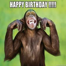 Meme Generator Birthday - inspirational happy birthday birthday monkey meme generator