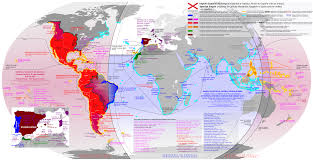 Spain Map World by Spanish Empire Complete Maps History Pinterest Empire And