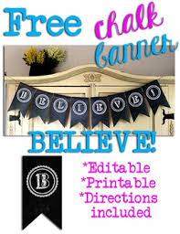 printable believe banner editable flag banner teaching resources teachers pay teachers