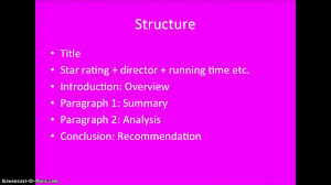 writing a film analysis paper how to write a film review part 3 structure youtube