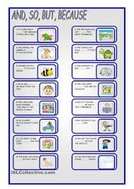 other grammar and conjunction worksheets https en islcollective