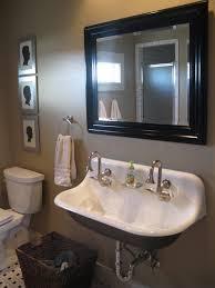 black bathroom vanity pedestal with glass bowl vessel sink combo