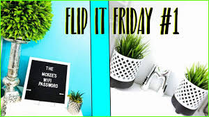 Pineapple Home Decor Flip It Friday 1 Home Decor Diy U0027s Youtube