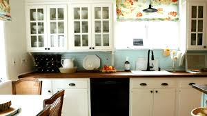 Flat Kitchen Cabinets Low Cost Cabinet Makeovers Save Money By Painting Your Old Ugly
