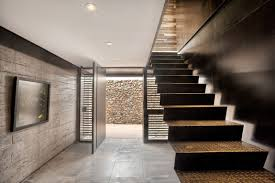 beautiful simple home uses 5 building materials stone steel