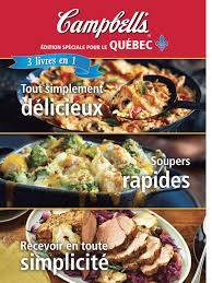 editeur livre cuisine cbell s édition spéciale pour le québec éditions broquet inc