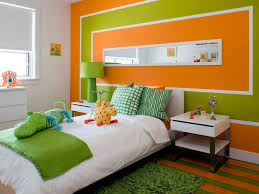 Best Colors With Orange Best 25 Orange Wall Paints Ideas On Pinterest Painted Wall Art